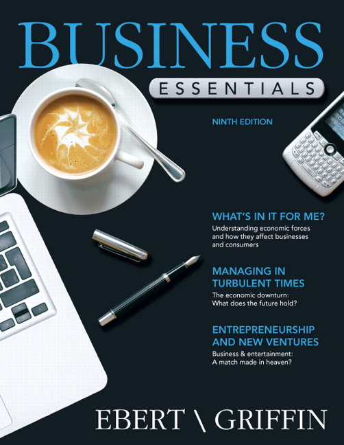 Ebert griffin business essentials pearson business essentials fandeluxe Image collections