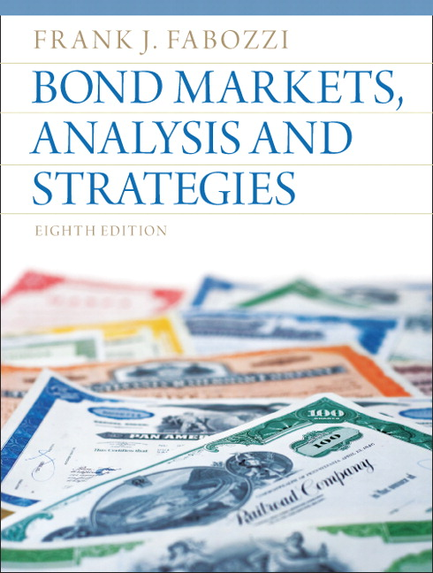 Fabozzi bond markets analysis and strategies pearson bond markets analysis and strategies fandeluxe Image collections