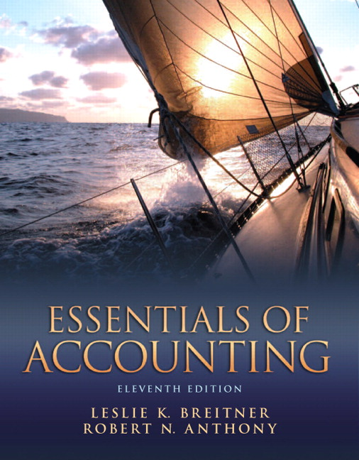 Breitner anthony essentials of accounting pearson essentials of accounting subscription 11th edition breitner anthony fandeluxe Gallery