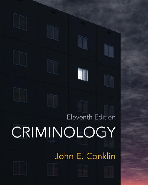 Conklin Criminology Pearson