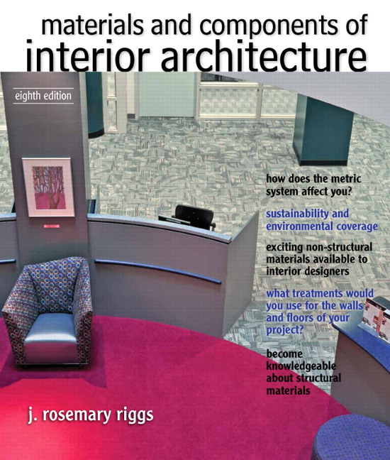 Materials And Components Of Interior Architecture, 8th Edition