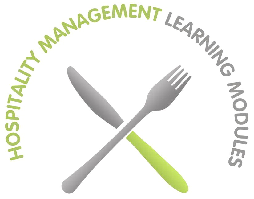 Informational Website for Hospitality Management Learning Modules