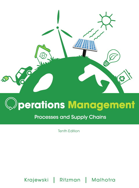 operations management processes and supply chains