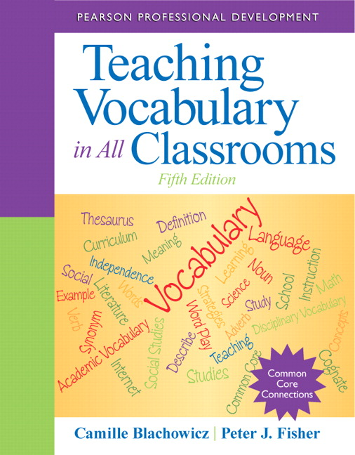 Blachowicz Fisher Teaching Vocabulary In All Classrooms