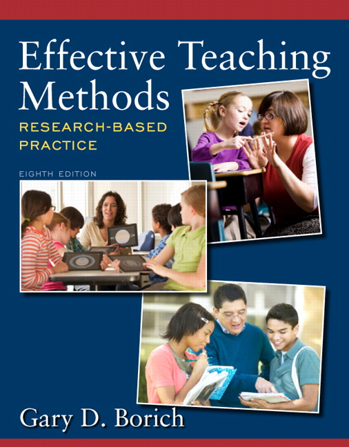 Borich Effective Teaching Methods Research Based Practice Pearson