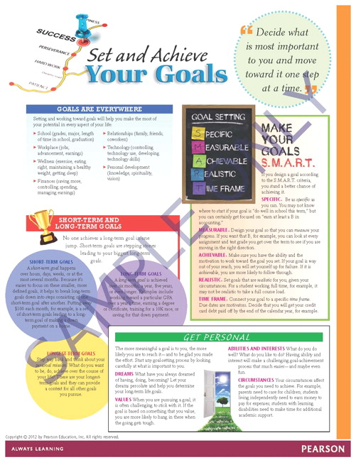 Success Tips: Set and Achieve Your Goals