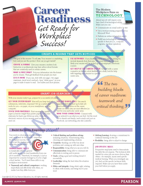 Success Tips: Get Ready for Workplace Success