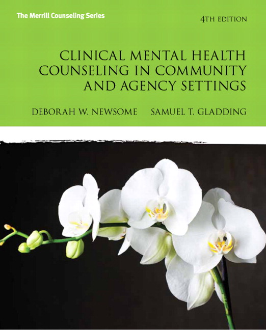Clinical Mental Health Counseling In Community And Agency Settings 4th Edition