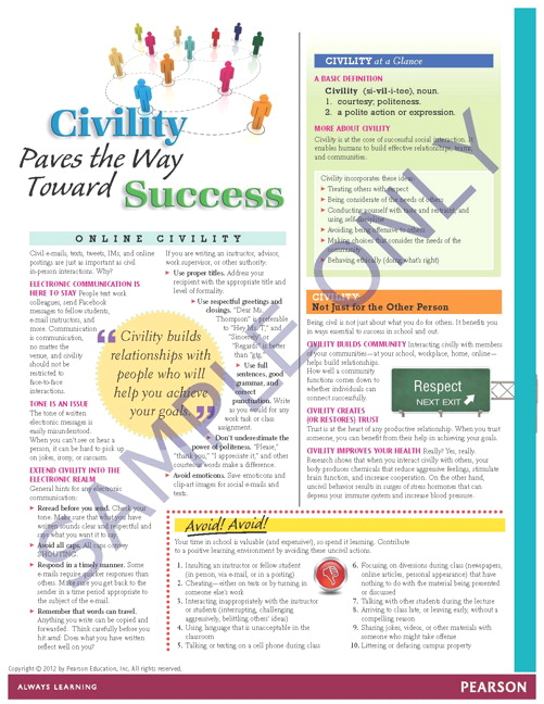 Success Tips: Civility Paves the Way to Success
