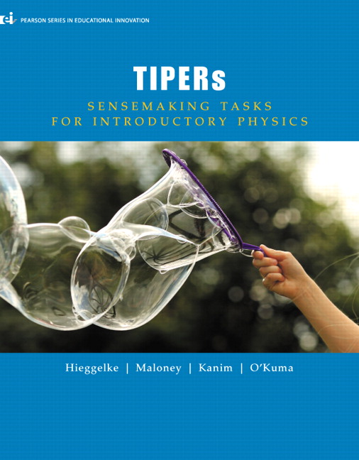 TIPERs: Sensemaking Tasks for Introductory Physics