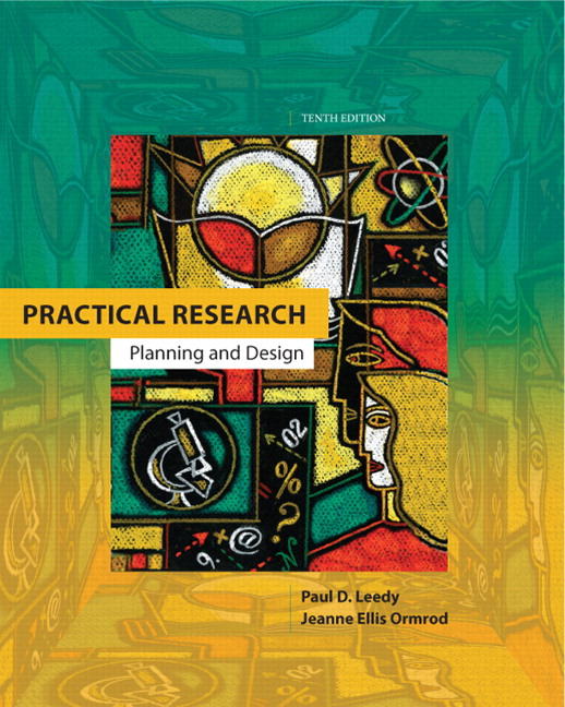 leedy ormrod practical research planning and design 11th edition pearson