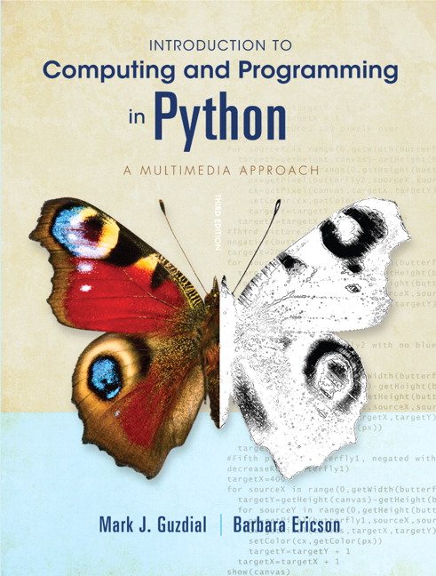 Guzdial ericson introduction to computing and programming in introduction to computing and programming fandeluxe Images