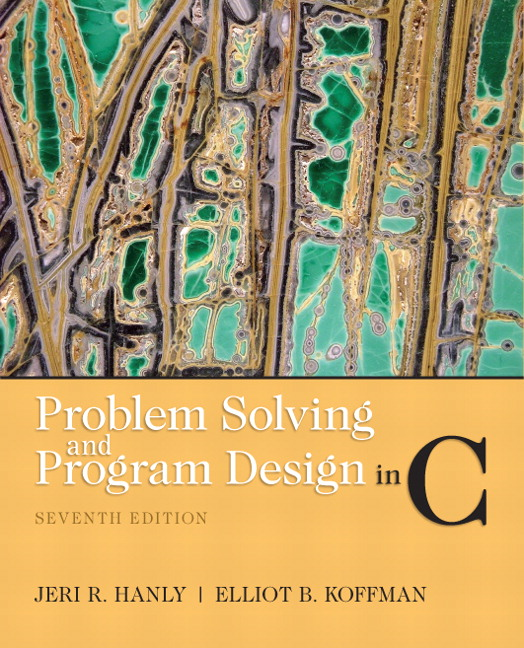 Hanly koffman problem solving and program design in c pearson view larger fandeluxe Gallery