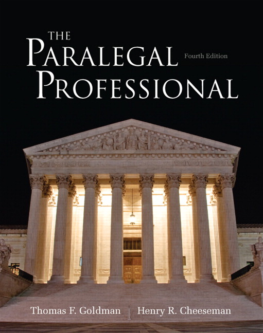 the paralegal profession chapter 1 The paralegal professional essentials, second edition part i chapter 1: the paralegal profession what is a paralegal no distinction between paralegal and legal assistant trend toward using paralegal may be distinctions in job descriptions within an organization.