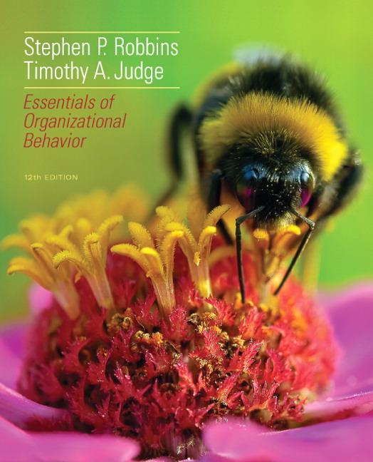 Robbins Judge Essentials Of Organizational Behavior Pearson