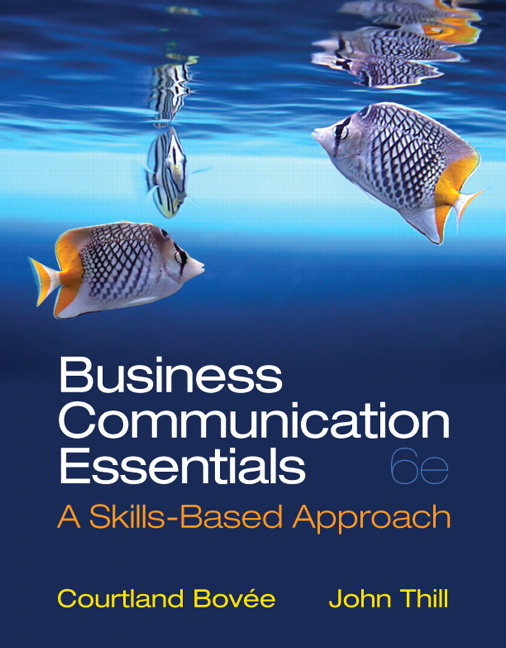 Bovee thill business communication essentials pearson business communication essentials fandeluxe Gallery