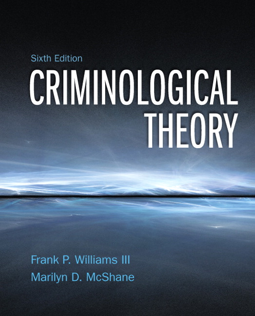 chapter 6 criminology Chapter 6: biological and psychological theories  bundle: hagan, introduction to criminology 9e + schmalleger, a guide to study skills and careers in criminology and public security isbn: 9781506356198 $13800  more bundle options related products criminological theory.