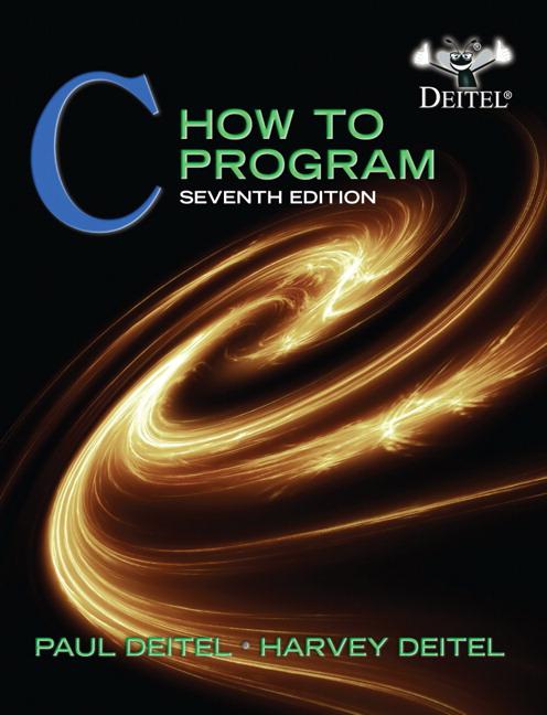 Deitel deitel c how to program pearson c how to program fandeluxe Gallery
