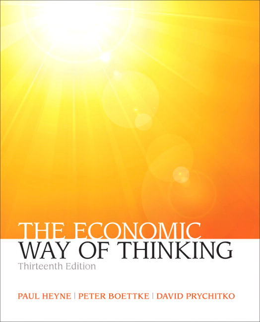 Economic Way of Thinking, The, 13th Edition