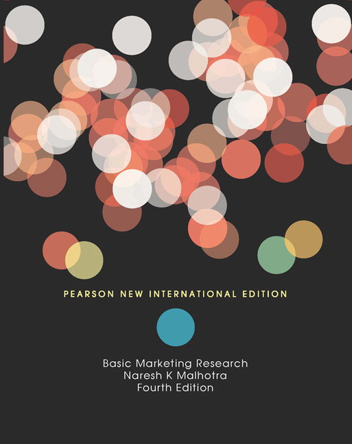 9780136066750: basic marketing research: a decision making.