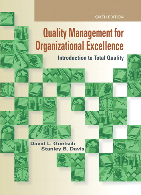an introduction to the total quality management Total quality management (tqm) is achieved and becomes part of the overall organizational culture when the five principles - produce quality work.