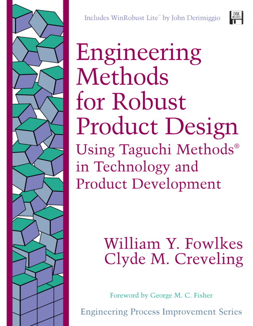 Fowlkes creveling engineering methods for robust for Product development and design for manufacturing