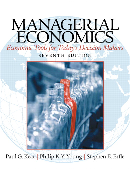 Keat Young Amp Erfle Managerial Economics 7th Edition