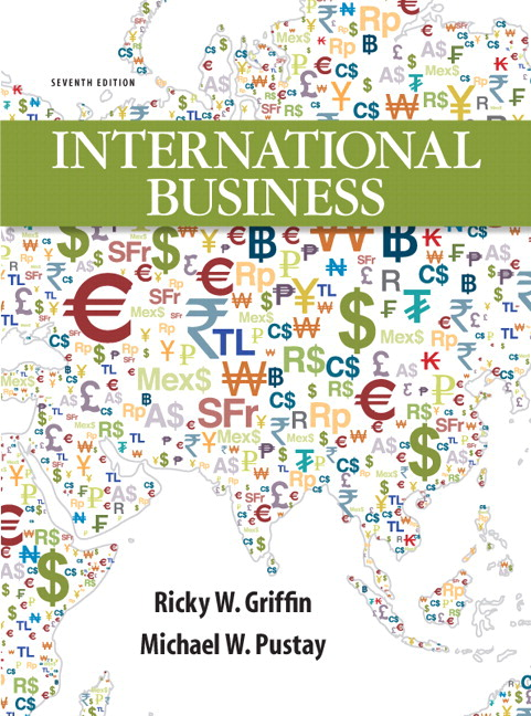 Griffin Pustay International Business A Managerial Perspective - Changes in us employment international mapping pearson education inc