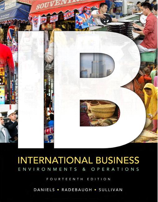 Daniels, Radebaugh & Sullivan, International Business | Pearson