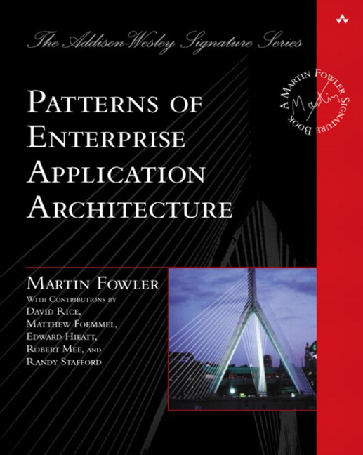Patterns of enterprise application architecture pdf скачать