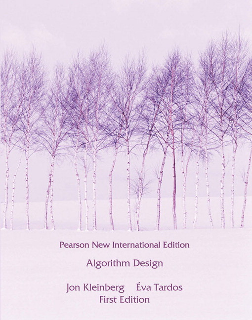 Algorithm Design (Subscription)