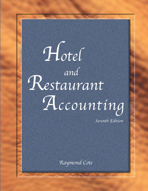 Cote american hotel lodging association hotel and restaurant hotel and restaurant accounting with answer sheet ahlei 7th edition fandeluxe Gallery