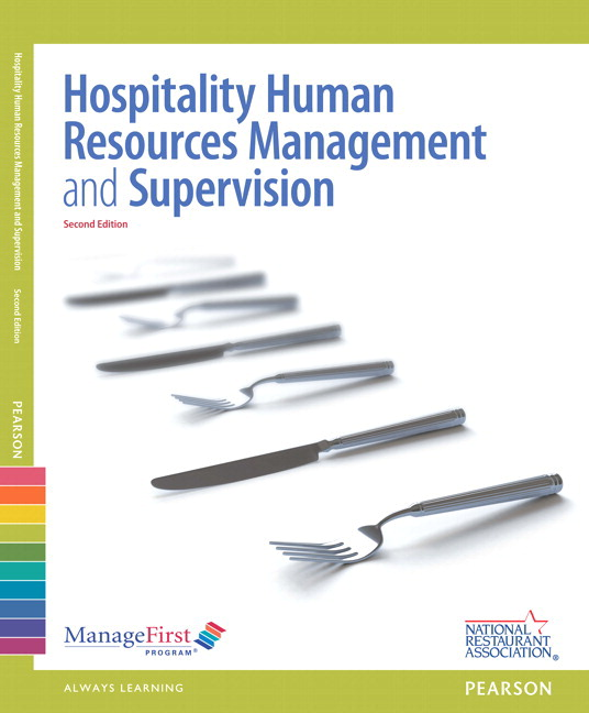 ManageFirst: Hospitality Human Resources Management & Supervision with Answer Sheet, 2nd Edition