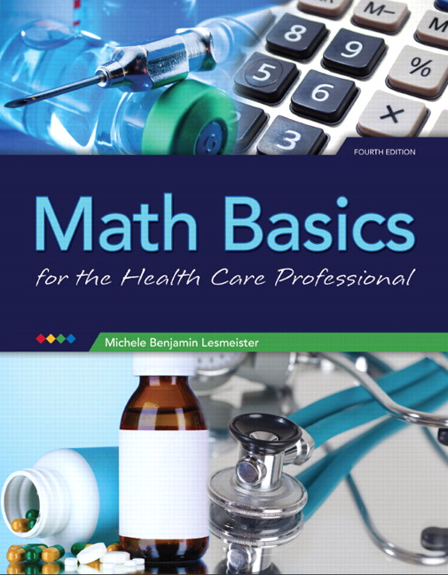 Lesmeister Math Basics For The Health Care Professional 5th