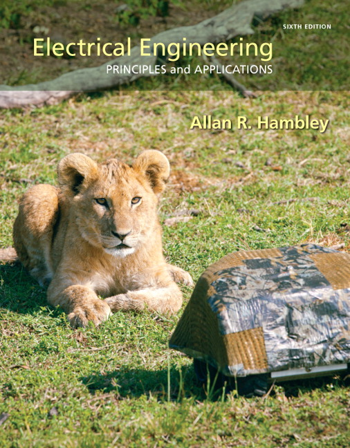 Description of the book Electrical Engineering Principles and Applications