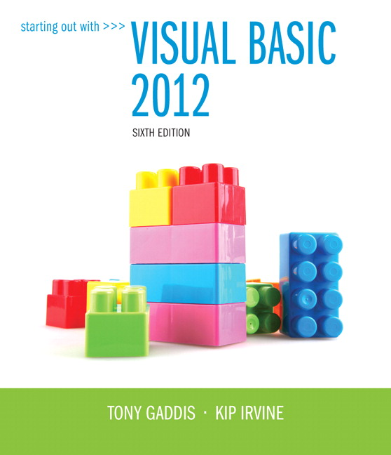 Visual Basic Book
