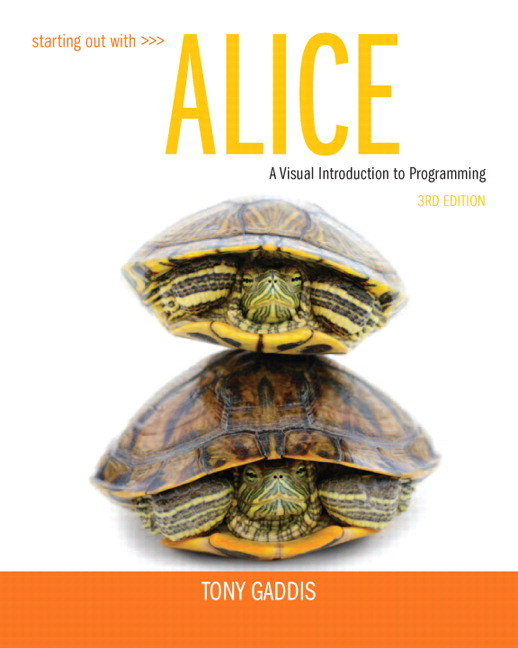 Starting Out with Alice, 3rd Edition