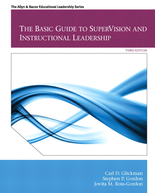 Glickman Gordon Ross Gordon Basic Guide To Supervision And