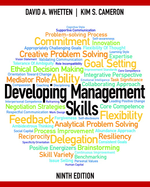 Developing Management Skills, 9th Edition