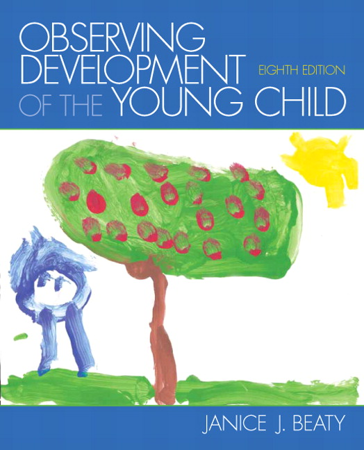 Children Education Book Cover : Beaty observing development of the young child th