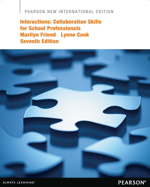 Interactions: Collaboration Skills for School Professionals (Subscription)