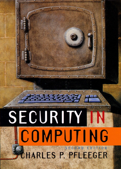 security in computing by charles p pfleeger solution manual
