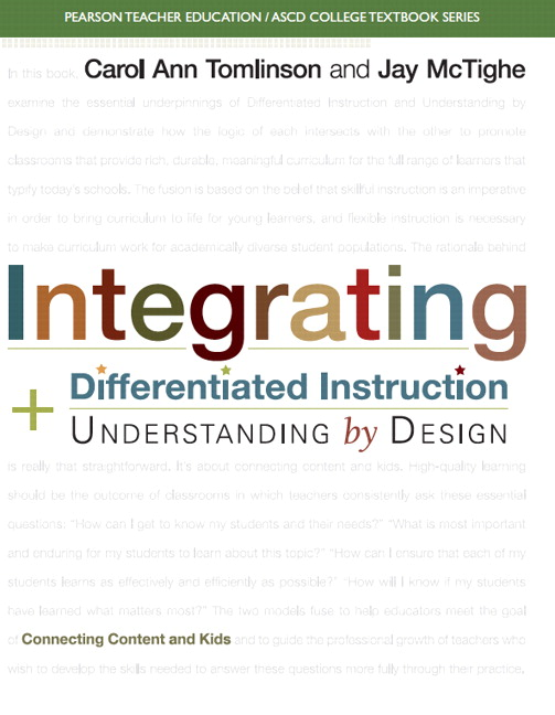 Tomlinson Mctighe Ascd Integrating Differentiated Instruction