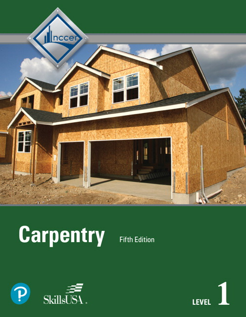NCCER Carpentry Level 1 Trainee Guide Paperback 5th