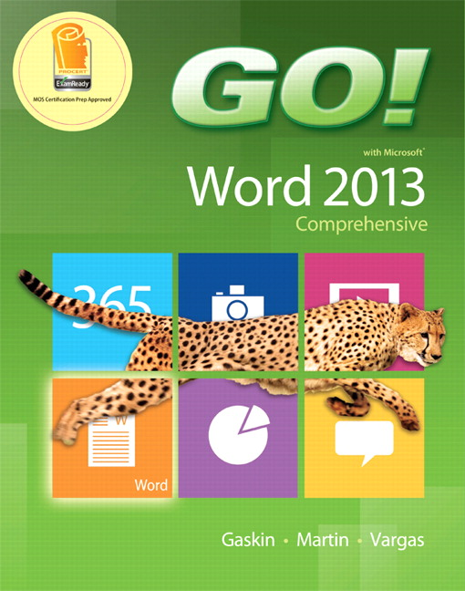 Gaskin Martin Vargas Go With Microsoft Word 2013 Comprehensive