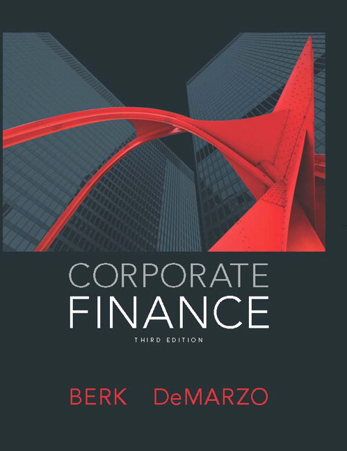 Berk demarzo corporate finance 4th edition pearson corporate finance plus new mylab finance with pearson etext access card package 3rd edition fandeluxe Images