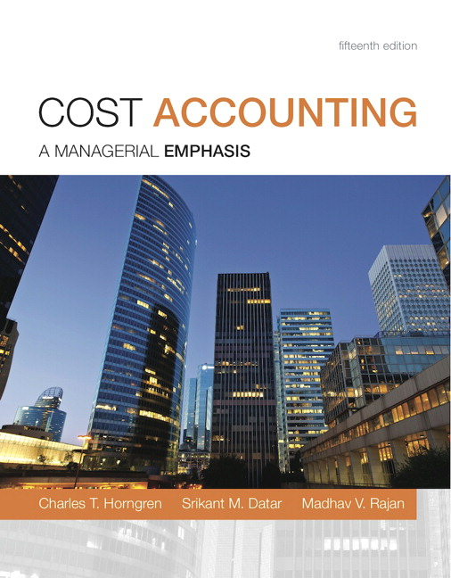 cost accounting 14th edition chapter 7 solutions.rar