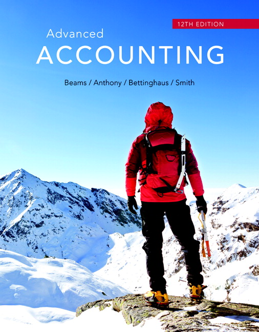 Beams Anthony Bettinghaus Smith Advanced Accounting 13th Edition Pearson