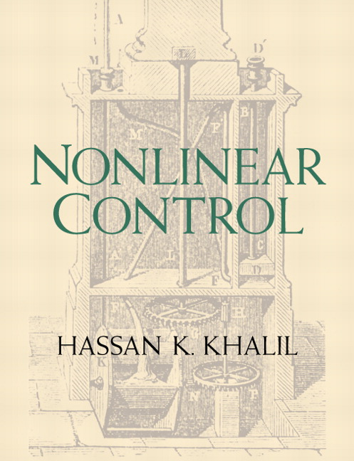khalil nonlinear control pearson rh pearson com