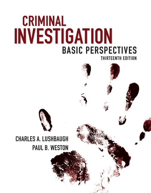 criminal investigation basic perspectives 12th edition pdf